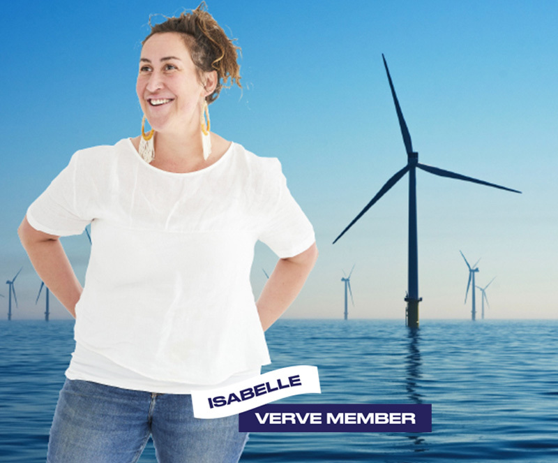 Verve Member over Sustainable Energy Image
