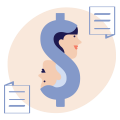 Negotiate your pay icon - Financial Coach 1